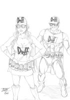 Duffman Oh Yeah!! by Lion542