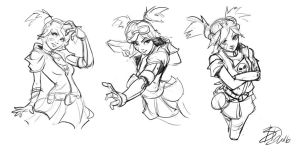 Gaige Sketches by imDRUNKonTEA