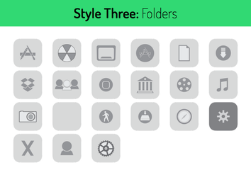 Style Three Folders by hamzasaleem