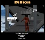 Dillion- Cold Blood Advanced Sheet 2 by mdbruffy