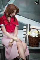 The Flower Girl_Aerith_FFVII by AiridAndKaitoCosplay