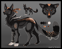 [CLOSED] Wolf Auction [Points or USD] by SoulsplosionAdopts