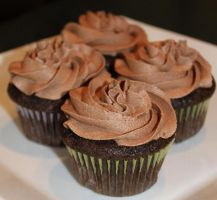 Classic Chocolate Cupcakes by Deathbypuddle