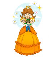 Princess Daisy by Daloween