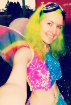Fluoro Fairy 8 by monstatofu2011