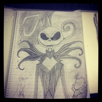 Nightmare Before Christmas - Jack Skellington by Utherdoll