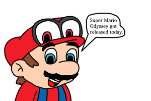 Super Mario Odyssey got released today by MarcosPower1996