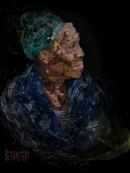 woman of cultured fragments by B9Creations