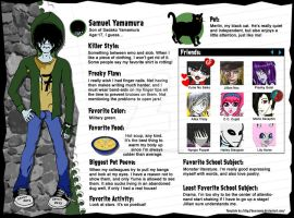Monster High OC Bio: Sam Yamamura by ThestralWizard