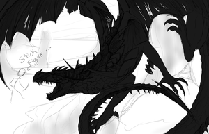 -WIP- Ender Dragon by XBlackIce