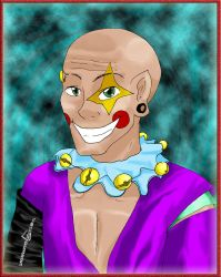 Psycho Clown Colored by Kaynil
