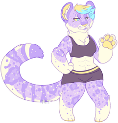 lavender snow leopard ota CLOSED by irlnya
