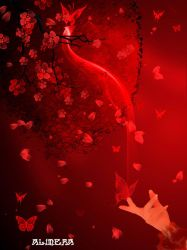 Red Butterfly  by Alimera