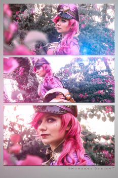 Vi PopStar - League of Legends - 1 by Atsukine-chan