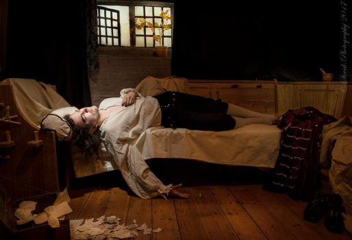 The Death of Chatterton by paul-rosenkavalier