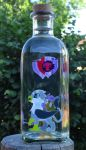 Bottle painting Gabby by Malte279
