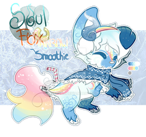 (Closed) Rainbow Smoothie SoulFox Auction! by SetSaiI