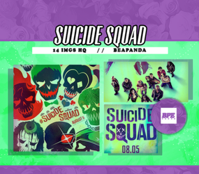 Photopack 9999 - Suicide Squad by southsidepngs
