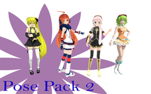 MMD Pose Pack 2 by MMD-Nay-PMD