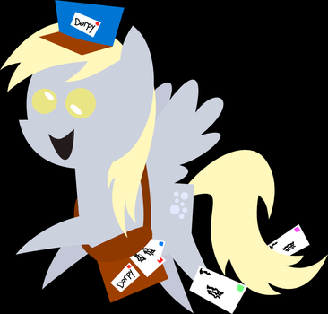 Derpy Delivery by jrk08004