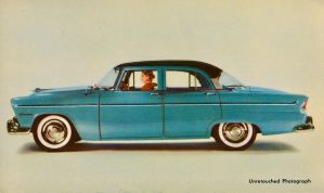 1955 Plymouth Belvedere by Yesterdays-Paper