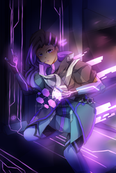 Sombra Overwatch by Rookie-Dea