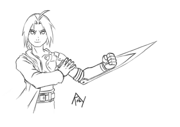 Edward Elric by TyrianRay
