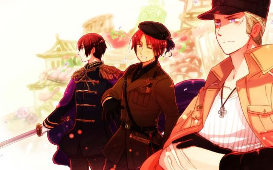 Alternate Colour Axis~ Wallpaper~ by Cioccolatodorima