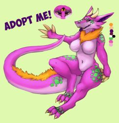 Monster Lady Adopt by shesta713