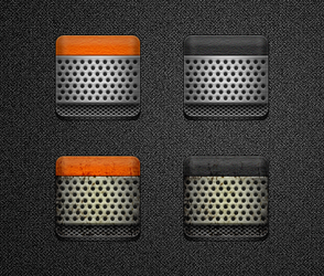 Voxer Icons for Jaku by bblake