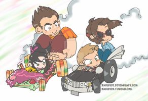 Sugar Rush by KamiDiox