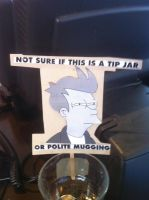 Fry Tip Jar by Spaceman130