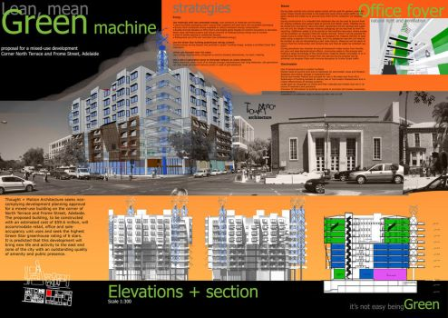 Green Mixed-use Project by a1106047