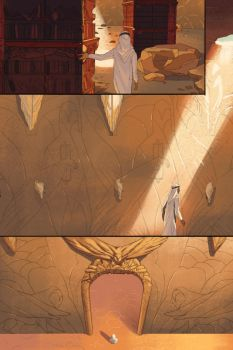 page preview - The Author's Apprentice bonus comic by HJeojeo