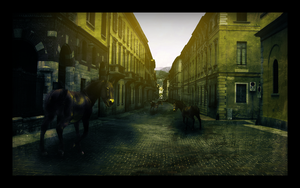 the Horse's Town by EmberGFX