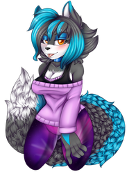 AT: Tanisha by Blue-the-Unknown