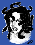 30 Day Monster Challenge - Day 13 - Medusa by sp00ntane0us