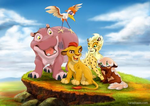 The Lion Guard by saramena