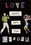 Love counts more than gender - ATC by Itti