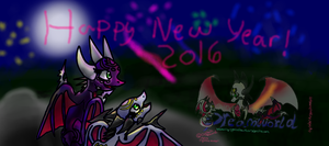 Happy New Year from AngelCynder by AngelCnderDream14