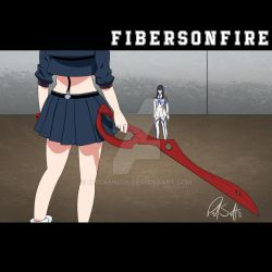 Kill la Kill x Alexisonfire by Chicken008