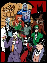 Batman The Animated Series by Requiem-Delacroix