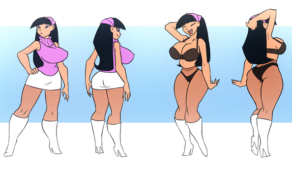 Trixie Tang - All Grown Up (by Bigdad) by Evil-Count-Proteus