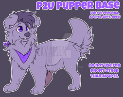 [P2U BASE] Pupper by servalien