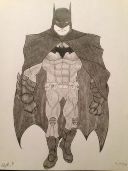 Batman by StreifSketches