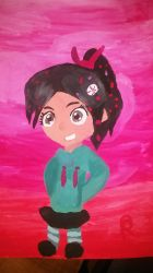 Venelope Painted by Shadowredenderman