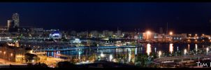 A Barcelona Night by ElenionTolto