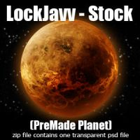 Planet One by LockJavv-Stock