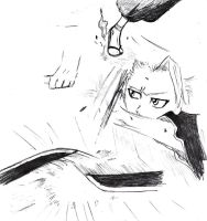 Toshiro sketch by Snow--Chan