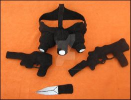 Sam Fisher's Accessories by A-chan--Creations